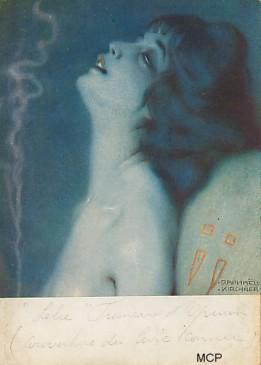 Carte postale de Kirchner pour illustrer la valeur artistique des cartes postales.