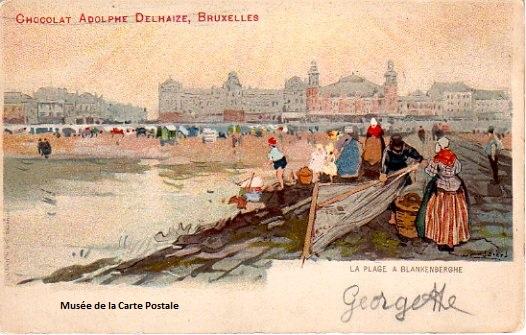 Carte postale de Cassiers H. éditeur Dietrich.