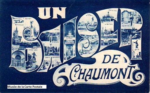 Carte postale de Chaumont.