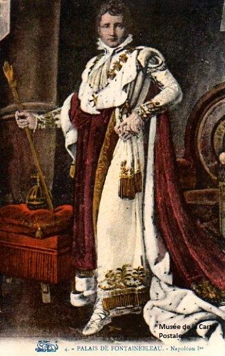 Carte postale de Napoléon 1er.