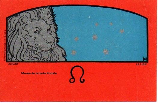 Carte postale d'Henri Meunier (série Zodiaque) éditeur Dietrich.