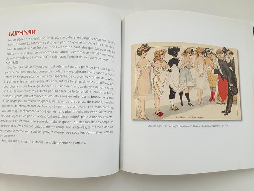 Lupanar extrait du livre