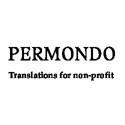 Logo de PerMondo, projet de traductions gratuites pour Associations à but non lucratif.